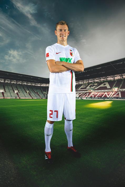 Alfred Finbogason FC Augsburg