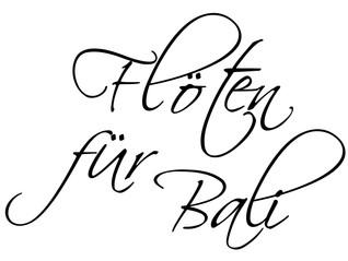 """Benefiz-Konzert """"Flöten für Bali"""""""