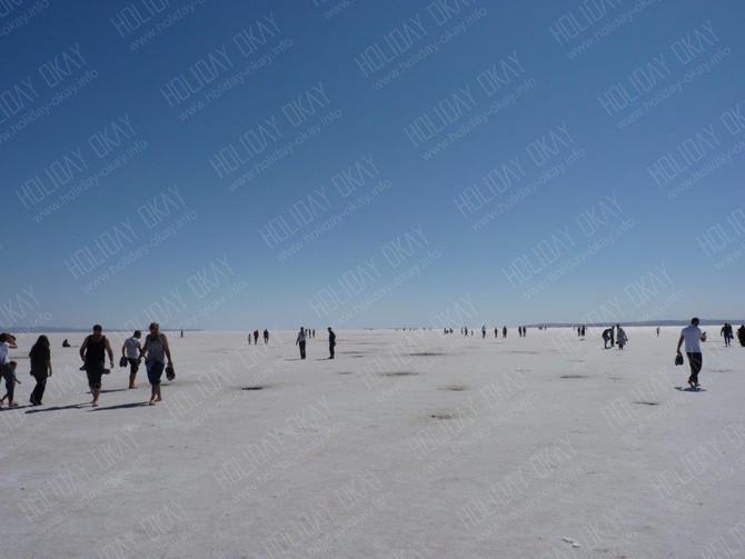 Der Salzsee *TUZ GÖLÜ* in Kappadokien | Zentral Anatolien