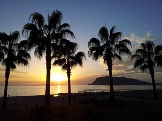 Sonnenuntergang am Burgberg von Alanya