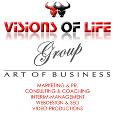 VISIONS OF LIFE Group /// ART OF BUSINESS /// Marketing, PR, Consulting, Coaching, Hotelmarketing, Website, SEO, Video, Webdesign, Video-Produktion in ALANYA/ANTALYA /// www.visionsoflife-group.com