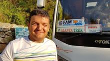 """Eine Nachtwanderung mit dem Tourenveranstalter FAM TOUR auf den  1.500m hohen """"Çakıllıca Tepe&q"""
