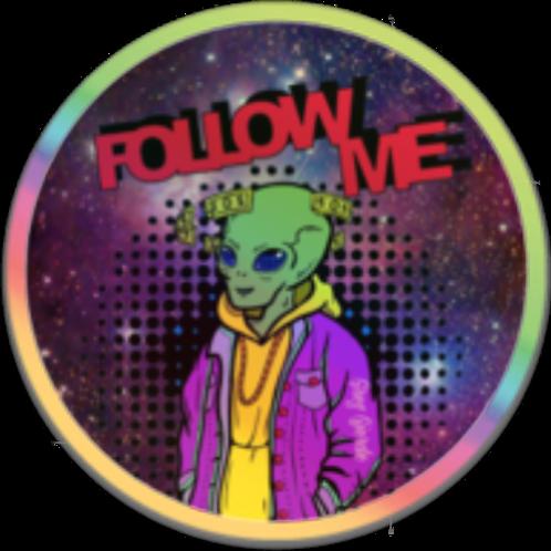 Follow Me Magnet  '19