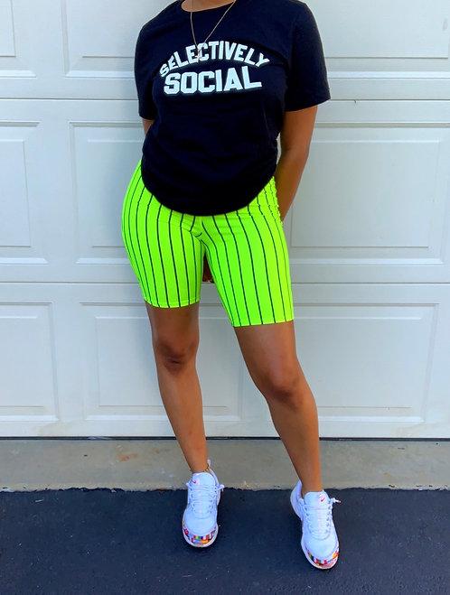 trenaB. Biker Shorts