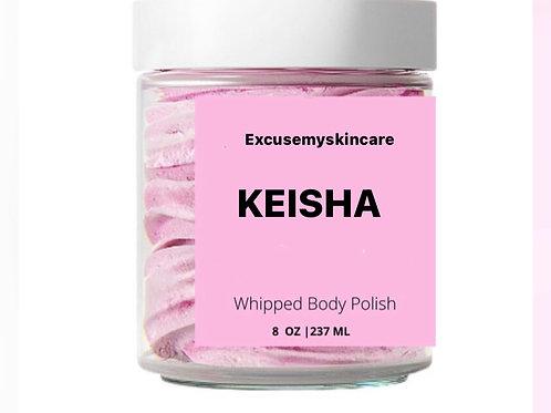 KEISHA whipped body scrub
