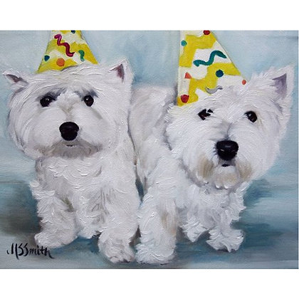 PRINT West Highland Terrier Birthday Wishes
