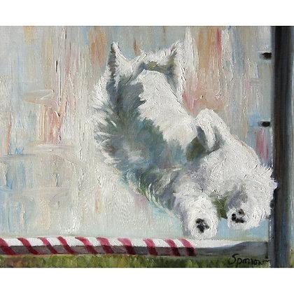 PRINT Westie West Highland Terrier Show Dog lover