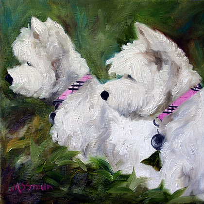 PRINT Westie West Highland Terrier Dog