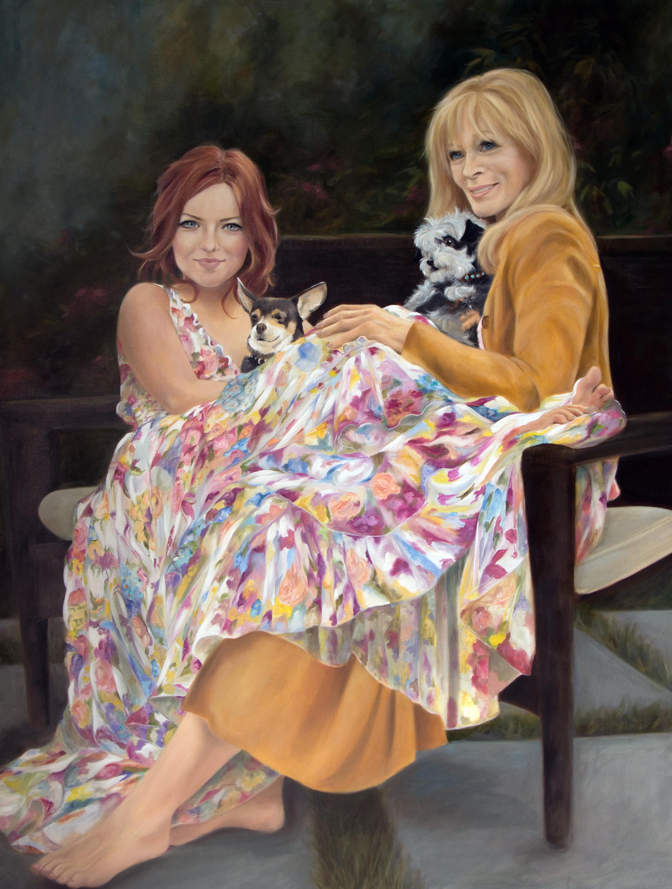 Frances Fisher & Francesca Eastwood