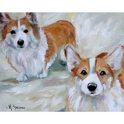 PRINT Pembroke Welsh Corgi Dog