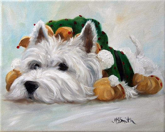PRINT West Highland Terrier Humbug
