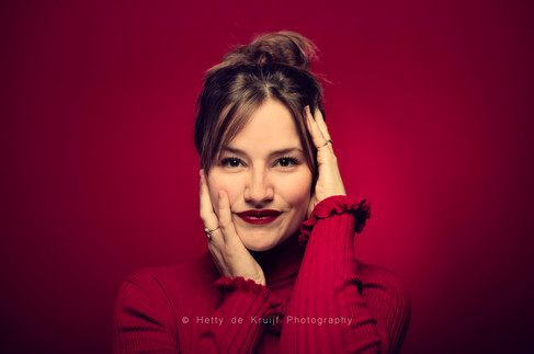 Actress Barbara Sloesen