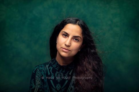 Actress Parmis Amini