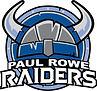 Paul Rowe Jr./Sr. High School Raiders Logo