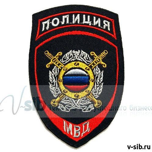Шеврон нарукавный Подразделения охраны общественного порядка МВД РФ - нового обр