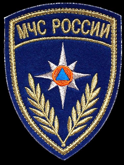 Нарукавный знак МЧС России Авиация (вышитый)