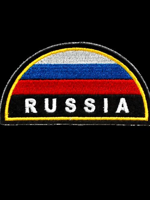 Нарукавный шеврон МЧС РФ Russia (вышитый)
