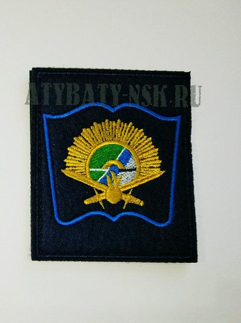 Шеврон НВВКУ (книжка) на липе
