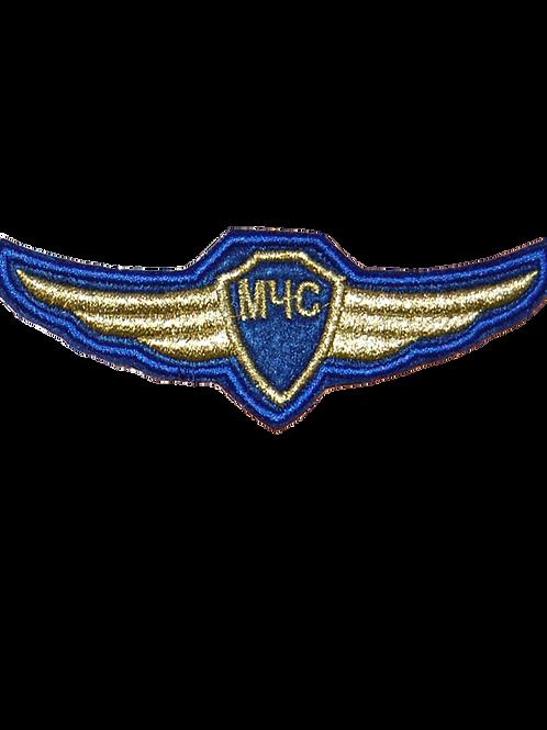 Нагрудная планка МЧС Авиация (вышитая)