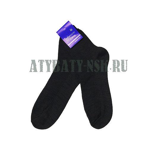 Носки черные полушерсть