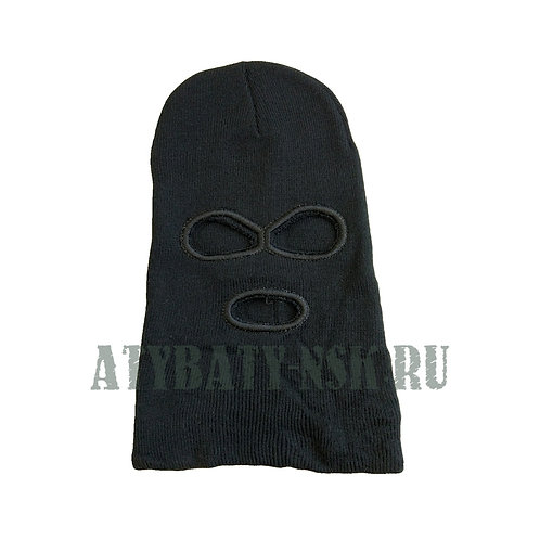 Шапка-маска зимняя вязаная