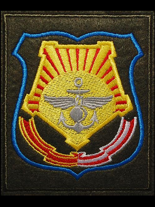 Шеврон нарукавный штаба ДВО (вышитый голубой кант)