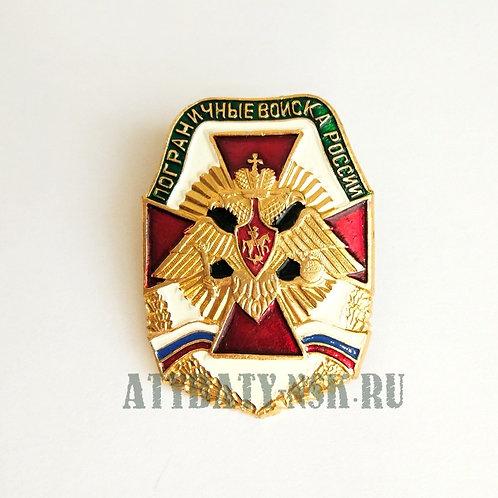 Значок мет. ПВ России (красн. крест)