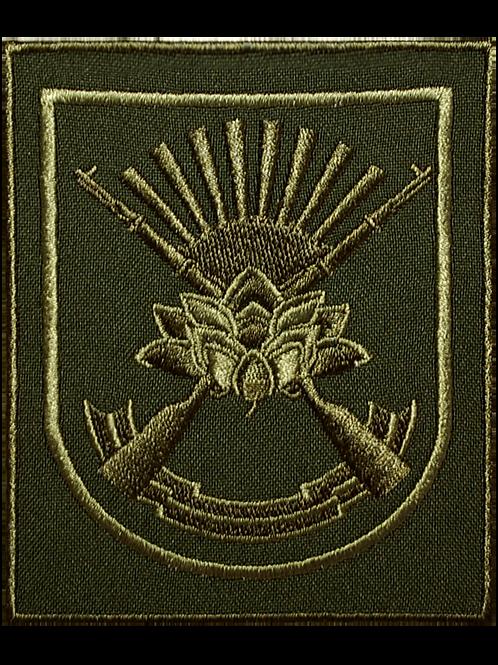 Нарукавный шеврон полевой ВС РФ (вышитый, габардин)