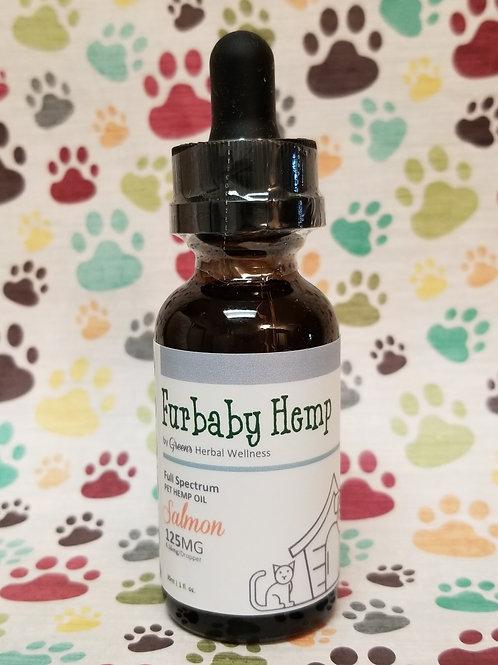 Furbaby Hemp Pet Tincture - Salmon\125mg