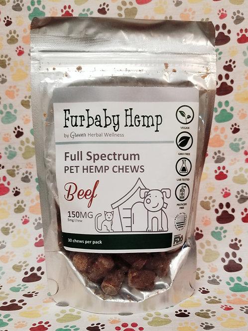 Furbaby Hemp - Calming Dog Treats\150mg - 30 Count