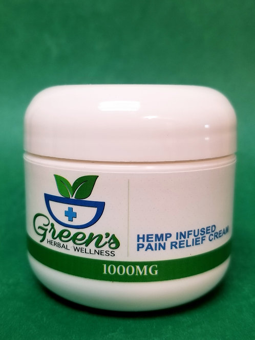Green's - Pain Relief Cream - 1000mg 2oz