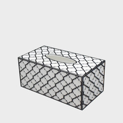 tissue Box Silver