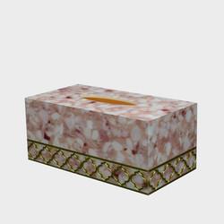 tissue Box Flower Pink