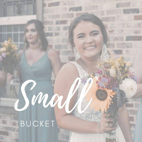 Bucket of Flowers - Small