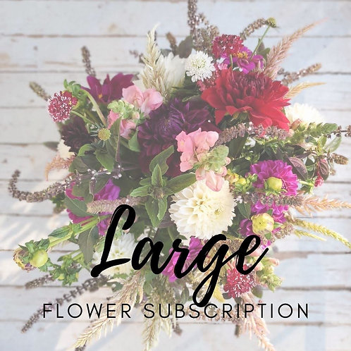 Flower Subscription - Large