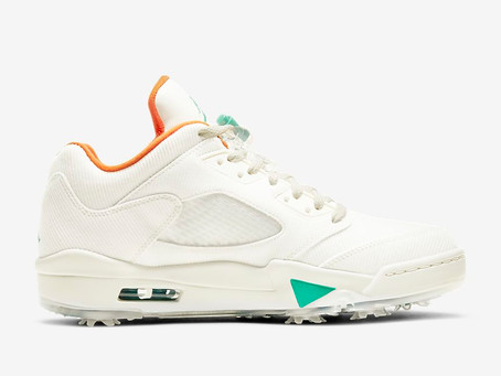 JORDAN 5 LOW G GOLF SHOE