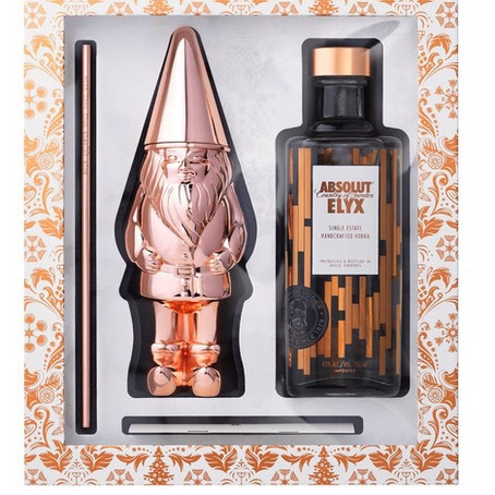 ABSOLUT ELYX GIFT SET WITH COPPER GNOME