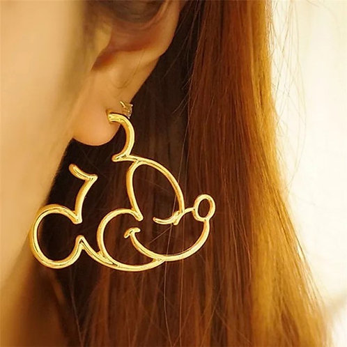 Mickey Mouse Hoops Gold