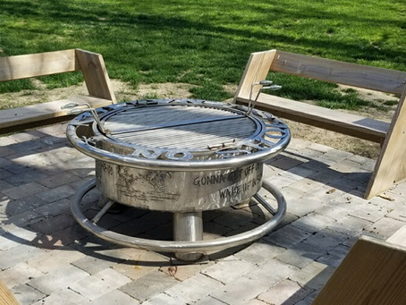 CHECK OUT OUR STAINLESS STEEL FIRE PITS!