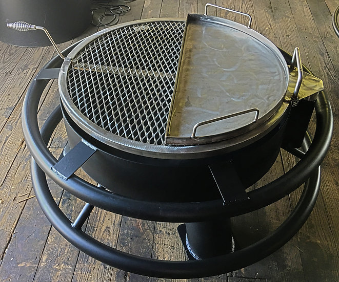 STAINLESS STEEL REMOVABLE HALF GRIDDLE