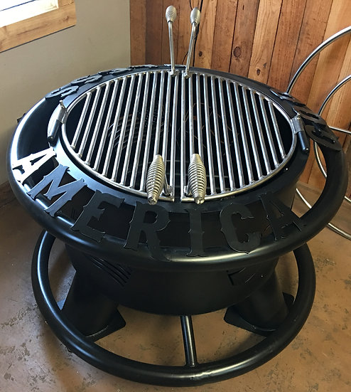 STAINLESS STEEL HALF-ASS GRILL