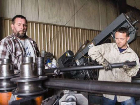 Businessman finds passion in welding