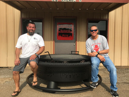 ASTROS' HALL OF FAMER CRAIG BIGGIO GETS CUSTOM WORLD SERIES FIRE PIT FROM CONROE SHOP