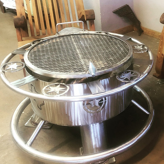 STAINLESS STEEL CUSTOM FIRE PIT