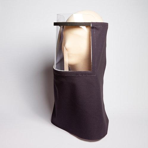 Black Solid Beekeeper Shield Drape