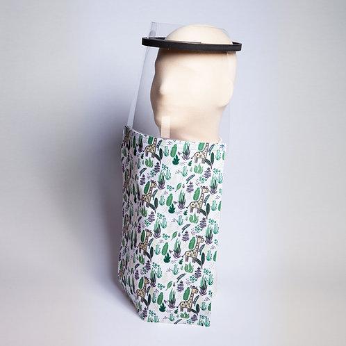 Giraffe Print Shield Drape