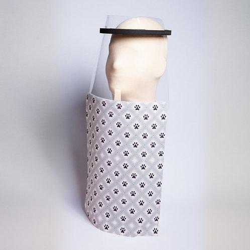 Paw Print Shield Drape