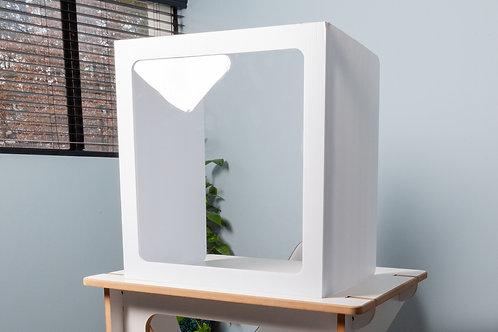 Corrugated Trifold Desktop Divider