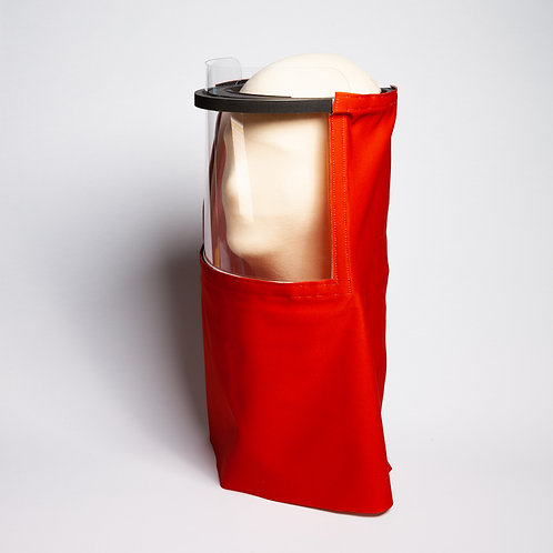 Red Rust Beekeeper Solid Shield Drape