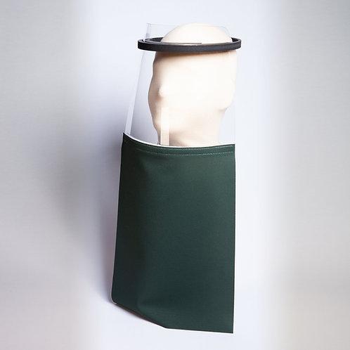 Hunter Green Solid Shield Drape
